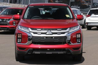 2020 Mitsubishi ASX XD MY20 ES ADAS ( 2WD) Red Diamond Continuous Variable Wagon