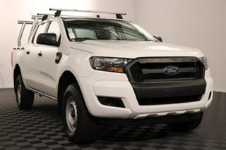 2015 Ford Ranger PX MkII XL Hi-Rider White 6 speed Automatic Utility.