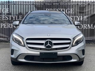 2014 Mercedes-Benz GLA-Class X156 GLA250 DCT 4MATIC Silver 7 Speed Sports Automatic Dual Clutch.