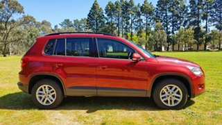 2010 Volkswagen Tiguan 5N MY10 103TDI 4MOTION Red 6 Speed Sports Automatic Wagon