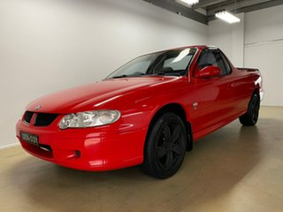 2002 Holden Commodore Vuii S Red 5 Speed Manual Utility