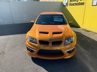 2010 Holden Special Vehicles ClubSport E Series 2 R8 Orange 6 Speed Manual Sedan.
