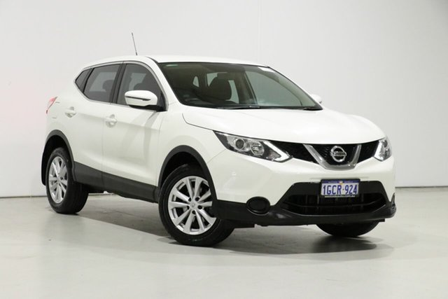 Used Nissan Qashqai J11 ST, 2016 Nissan Qashqai J11 ST White Continuous Variable Wagon