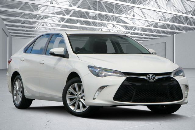 Used Toyota Camry ASV50R Atara S Eagle Farm, 2015 Toyota Camry ASV50R Atara S White 6 Speed Automatic Sedan