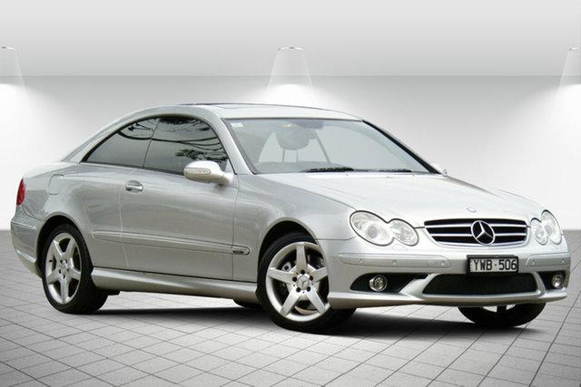 Used Mercedes-Benz CLK-Class C209 MY08 CLK280 Avantgarde Oakleigh South, 2008 Mercedes-Benz CLK-Class C209 MY08 CLK280 Avantgarde Adventurine Silver 7 Speed Automatic Coupe