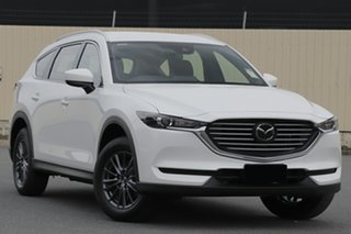 2020 Mazda CX-8 KG2WLA Sport SKYACTIV-Drive FWD Snowflake White 6 Speed Sports Automatic Wagon.