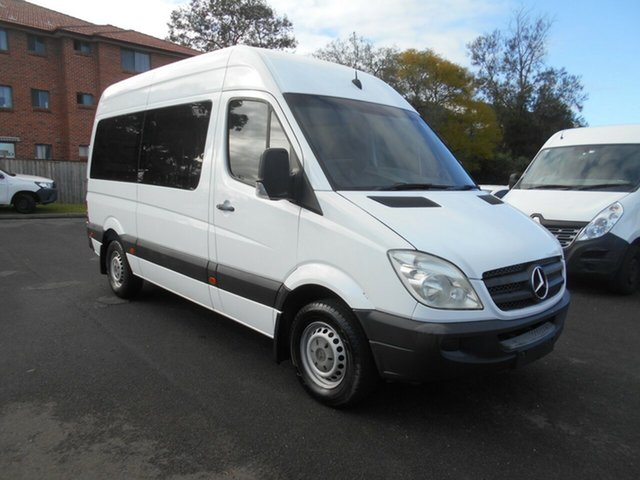Used Mercedes-Benz Sprinter 906 MY10 313CDI MWB, 2010 Mercedes-Benz Sprinter 906 MY10 313CDI MWB White 5 Speed Automatic Van