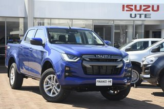 2021 Isuzu D-MAX RG MY21 LS-M Crew Cab Cobalt Blue 6 Speed Sports Automatic Utility.