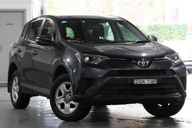 Used Toyota RAV4 ZSA42R MY17 GX (2WD), 2017 Toyota RAV4 ZSA42R MY17 GX (2WD) Graphite Continuous Variable Wagon