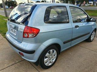 2002 Hyundai Getz TB GL Blue 5 Speed Manual Hatchback.