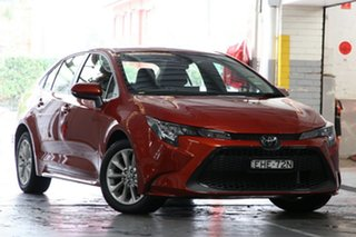 2019 Toyota Corolla Mzea12R SX Volcanic Red 10 Speed Constant Variable Sedan.