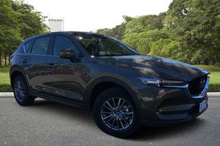 2020 Mazda CX-5 KF4WLA Maxx SKYACTIV-Drive i-ACTIV AWD Sport Titanium Flash 6 Speed Sports Automatic.