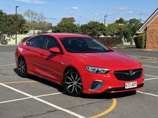 2018 Holden Commodore ZB MY19 RS Liftback Red 9 Speed Sports Automatic Liftback.