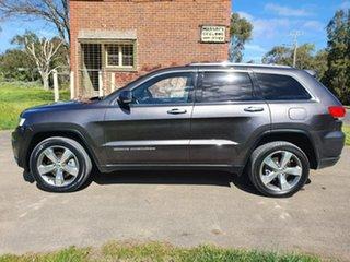 2015 Jeep Grand Cherokee WK Limited Grey Sports Automatic Wagon.