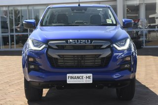 2021 Isuzu D-MAX RG MY21 LS-M Crew Cab Cobalt Blue 6 Speed Sports Automatic Utility