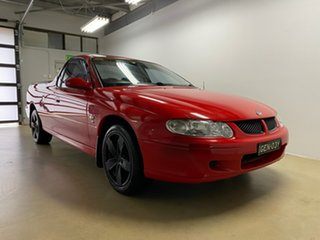2002 Holden Commodore Vuii S Red 5 Speed Manual Utility.