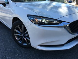 2020 Mazda 6 GL1033 Sport SKYACTIV-Drive White Pearl 6 Speed Sports Automatic Sedan.