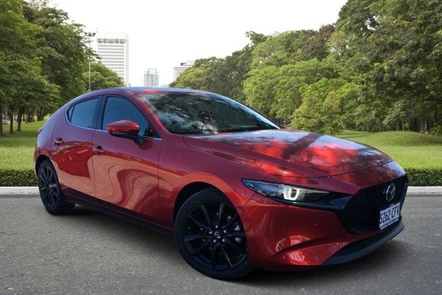 Demo Mazda 3 BP2HLA G25 SKYACTIV-Drive Astina, 2020 Mazda 3 BP2HLA G25 SKYACTIV-Drive Astina Soul Red 6 Speed Sports Automatic Hatchback