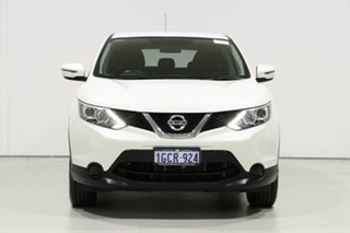 2016 Nissan Qashqai J11 ST White Continuous Variable Wagon.