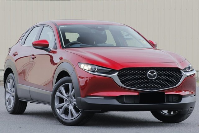 New Mazda CX-30 DM2W7A G20 SKYACTIV-Drive Evolve, 2020 Mazda CX-30 DM2W7A G20 SKYACTIV-Drive Evolve Soul Red Crystal 6 Speed Sports Automatic Wagon