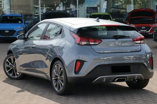 2019 Hyundai Veloster JS MY20 Coupe Lake Silver 6 Speed Automatic Hatchback.