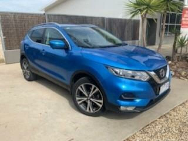 Used Nissan Qashqai J11 MY18 ST-L, 2018 Nissan Qashqai J11 MY18 ST-L Blue Continuous Variable Wagon