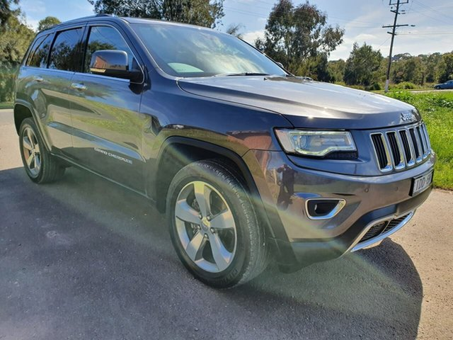 Used Jeep Grand Cherokee WK Limited, 2015 Jeep Grand Cherokee WK Limited Grey Sports Automatic Wagon