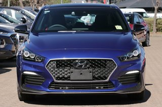 2020 Hyundai i30 PD.3 MY20 N Line D-CT Premium Intense Blue 7 Speed Sports Automatic Dual Clutch