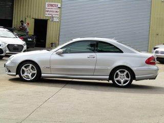 2008 Mercedes-Benz CLK-Class C209 MY08 CLK280 Avantgarde Adventurine Silver 7 Speed Automatic Coupe