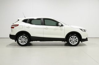 2016 Nissan Qashqai J11 ST White Continuous Variable Wagon