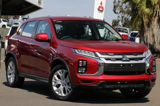 2020 Mitsubishi ASX XD MY20 ES ADAS ( 2WD) Red Diamond Continuous Variable Wagon.