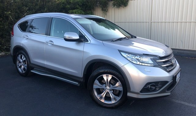 Used Honda CR-V RM MY14 DTi-L 4WD, 2014 Honda CR-V RM MY14 DTi-L 4WD Silver 5 Speed Sports Automatic Wagon