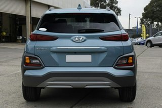 2020 Hyundai Kona OS.3 MY20 Elite 2WD Ceramic Blue 6 Speed Sports Automatic Wagon