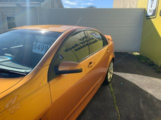 2010 Holden Special Vehicles ClubSport E Series 2 R8 Orange 6 Speed Manual Sedan
