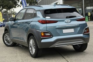 2020 Hyundai Kona OS.3 MY20 Elite 2WD Ceramic Blue 6 Speed Sports Automatic Wagon.