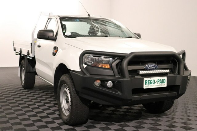 Used Ford Ranger PX MkII XL Plus, 2016 Ford Ranger PX MkII XL Plus White 6 speed Automatic Cab Chassis