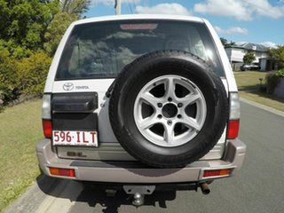2001 Toyota Landcruiser Prado GXL White 4 Speed Automatic Wagon