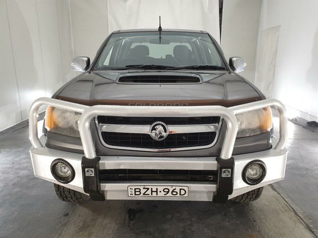 Used Holden Colorado RC MY11 LT-R Crew Cab, 2011 Holden Colorado RC MY11 LT-R Crew Cab Grey 5 Speed Manual Utility