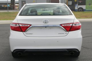 2015 Toyota Camry ASV50R Atara S White 6 Speed Automatic Sedan