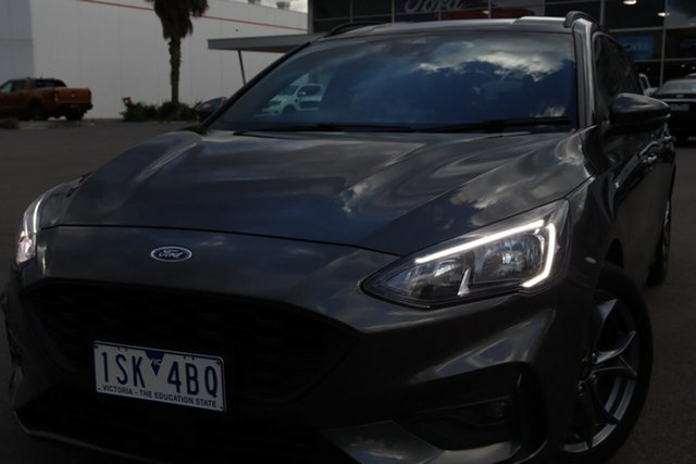 Used Ford Focus SA 2019.25MY ST-Line, 2019 Ford Focus SA 2019.25MY ST-Line Magnetic 8 Speed Automatic Wagon