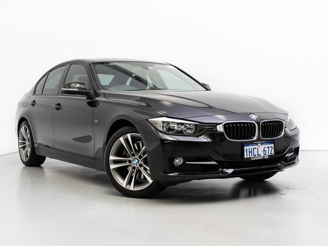 Used BMW 328i F30 MY14 Sport Line, 2013 BMW 328i F30 MY14 Sport Line Black 8 Speed Automatic Sedan