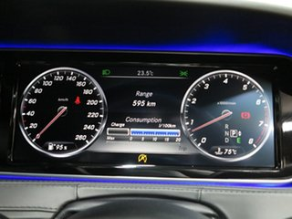 2015 Mercedes-Benz S-Class V222 806MY S400 L 7G-Tronic + Silver 7 Speed Sports Automatic Sedan