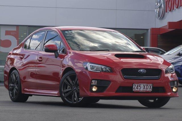 Used Subaru WRX V1 MY17 AWD, 2017 Subaru WRX V1 MY17 AWD Red 6 Speed Manual Sedan