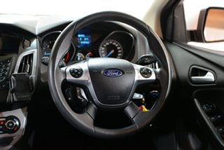 2015 Ford Focus LW MkII MY14 Trend PwrShift White 6 Speed Auto Hatchback