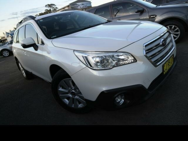 Used Subaru Outback MY16 2.0D AWD, 2016 Subaru Outback MY16 2.0D AWD White Continuous Variable Wagon