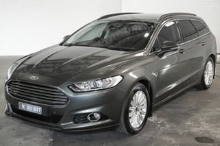 2016 Ford Mondeo MD Trend Grey 6 Speed Sports Automatic Dual Clutch Wagon