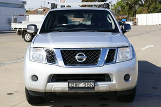 2010 Nissan Pathfinder R51 MY10 ST Silver 5 Speed Sports Automatic Wagon