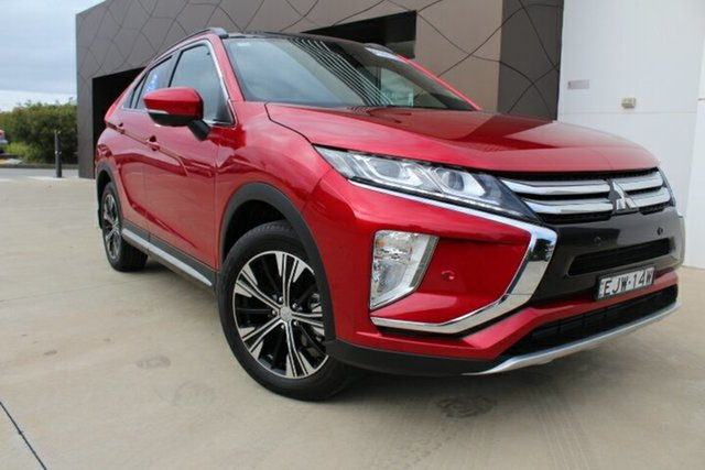 Demo Mitsubishi Eclipse Cross YA MY20 Exceed 2WD, 2020 Mitsubishi Eclipse Cross YA MY20 Exceed 2WD Red Diamond 8 Speed Constant Variable Wagon