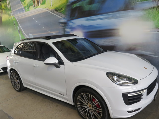 Used Porsche Cayenne Series 2 MY15 GTS, 2015 Porsche Cayenne Series 2 MY15 GTS White 8 Speed Automatic Tiptronic Wagon
