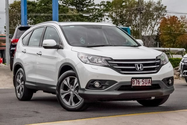 Used Honda CR-V RM VTi-L 4WD, 2012 Honda CR-V RM VTi-L 4WD White 5 Speed Automatic Wagon